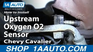 How To Install Replace Front Upstream Oxygen O2 Sensor 200002 Chevy Cavalier 24L  YouTube