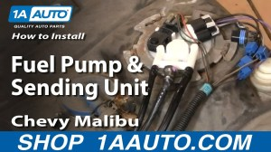 How To Install Replace Fuel Pump and Sending Unit Chevy Malibu 9903 1AAuto  YouTube