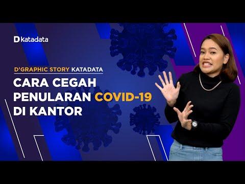 Ini Cara Cegah Penularan Covid-19 Saat Bekerja  | Katadata Indonesia