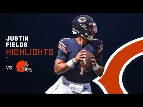 Every Justin Fields Play From First NFL Start | NFL 2021 Highlights