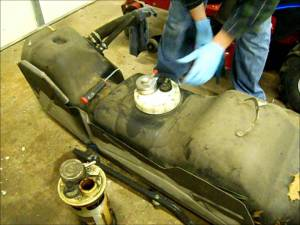 Replacing the fuel pump module on a 1995 Dodge Ram 2500 how to  YouTube