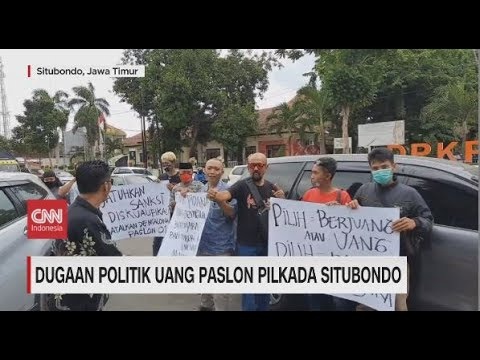Dugaan Politik Uang Paslon Pilkada Situbondo