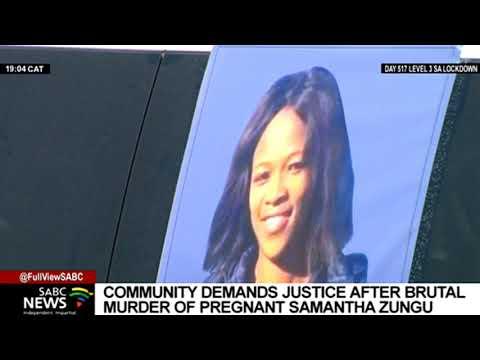 Family demands swift justice for brutally murdered Samantha Zungu