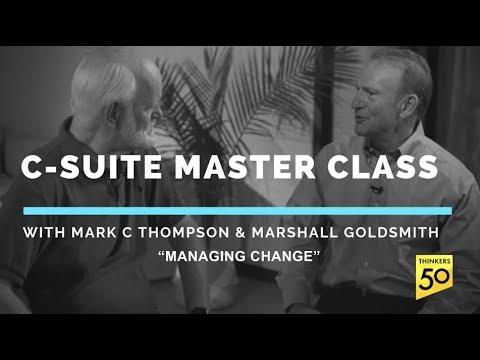 C Suite Master Class: Managing Change