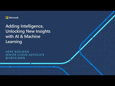 IoT ELP Module 3 (Main Presentation) - Adding Intelligence, Unlocking New Insights with AI & ML