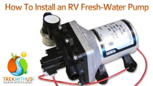 How to Install a SHURflo Fresh Water Pump  RV DIY  YouTube