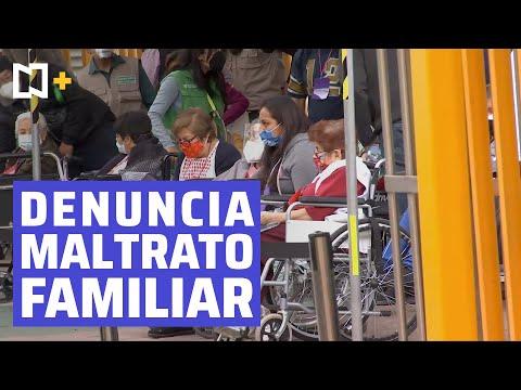 Adulta mayor denuncia maltrato familiar durante vacunación COVID-19 en Iztapalapa