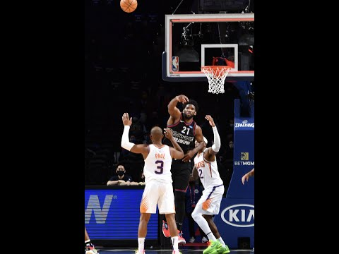 Joel Embiid was so close on the potential game-tyi…
