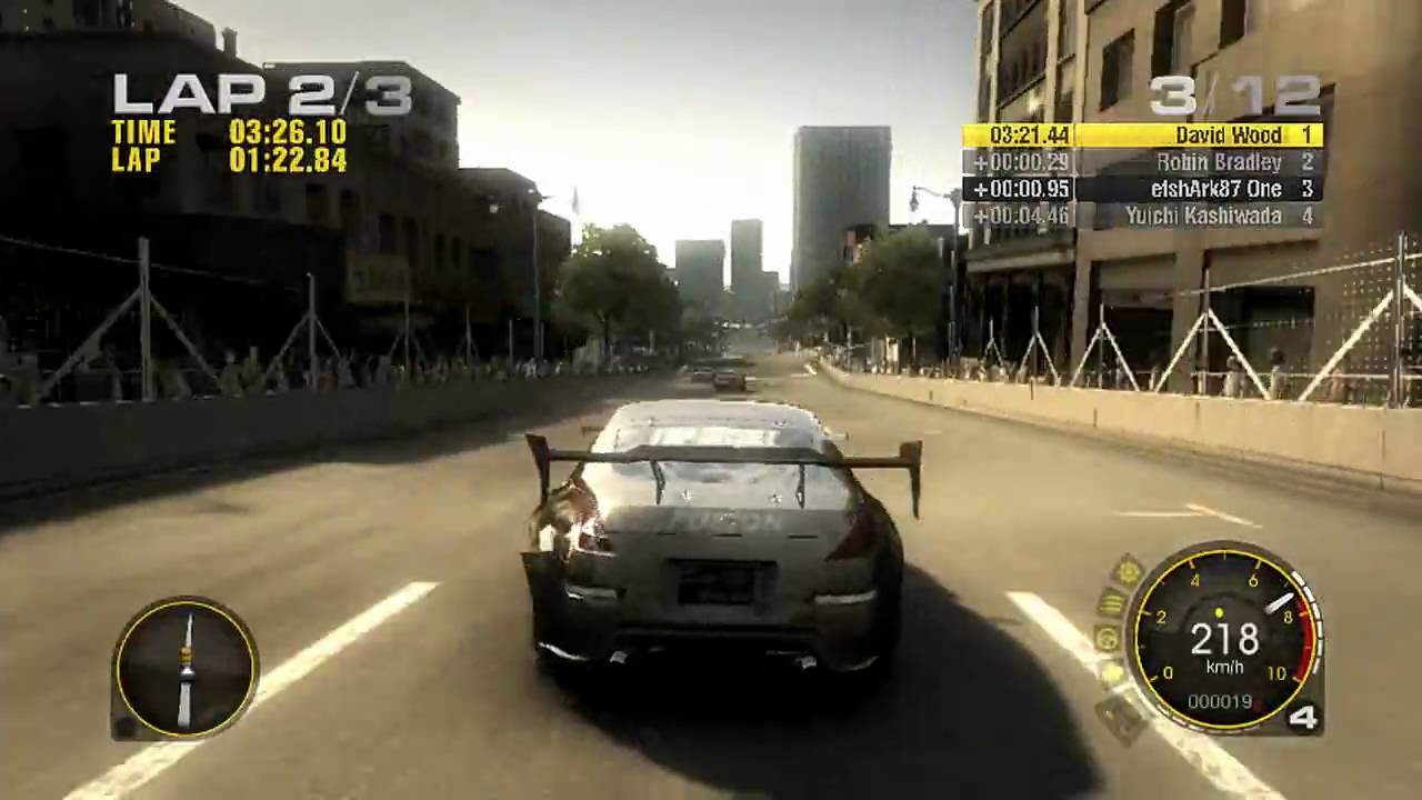 Race Driver GRID Gameplay 720p HD PC Xbox 360 PS3