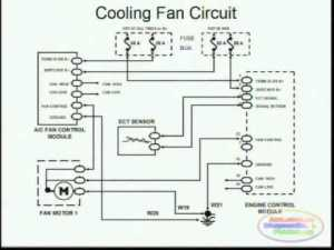 Cooling Fans & Wiring Diagram  YouTube