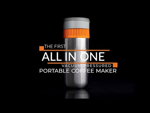 Introducing the world's first all in one vacuum pressure coffee maker. Brew and drink from a single device with the Pipamoka, a nomadic coffee maker. Simple and sturdy, this pressure brewer makes it easy and quick to fuel your days and enjoy hours of hot, freshly-brewed coffee.