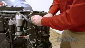 How to Change the Thermostat on an Outboard Engine  YouTube