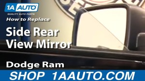 How To Replace Install Side Rear View Mirror 20092012