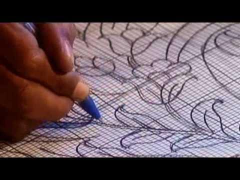 Deisgn Plate Cartoon Persian Rug Making Process YouTube