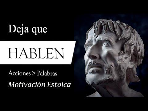 DEJA que HABLEN (Motivación Estoica de Epicteto y Séneca para LIDIAR con las CRÍTICAS y ACTUAR)