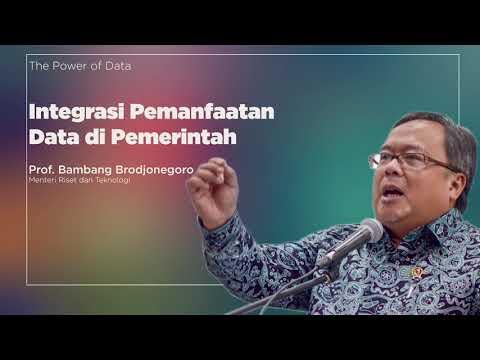 Bambang Brodjonegoro: Pentingnya Integrasi Pemanfaatan Data di Pemerintah   Katadata Indonesia