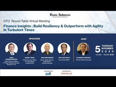Finance Insights: Build Resiliency & Outperform with Agility in Turbulent Times