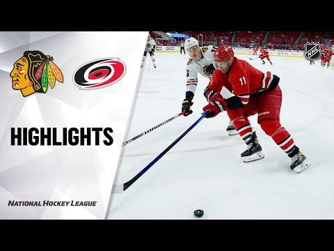 Blackhawks @ Hurricanes 5/4/21 | NHL Highlights