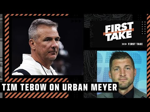 Tim Tebow shares the advice he gave Urban Meyer | First Take