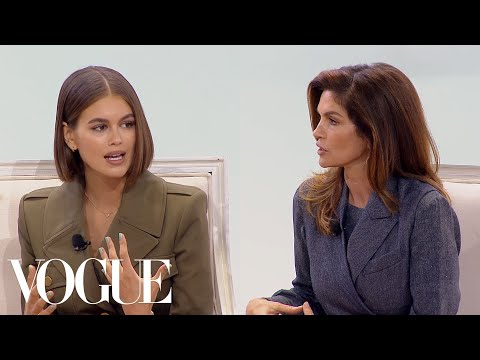 Kaia Gerber & Cindy Crawford on Their Careers, Social Media and the Modeling Industry   Vogue