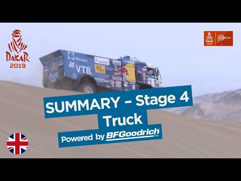 Summary - Truck - Stage 4 (Arequipa / Tacna) - Dakar 2019