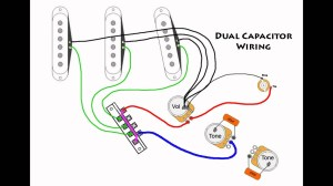 Stratocaster Mod Wiring  Dual Capacitors  YouTube
