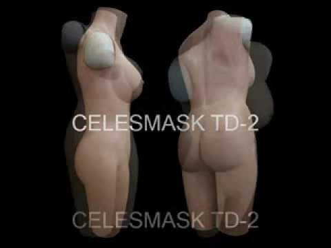 female skin bodysuit