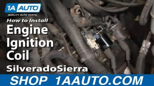How To Install Replace Engine Ignition Coil Silverado