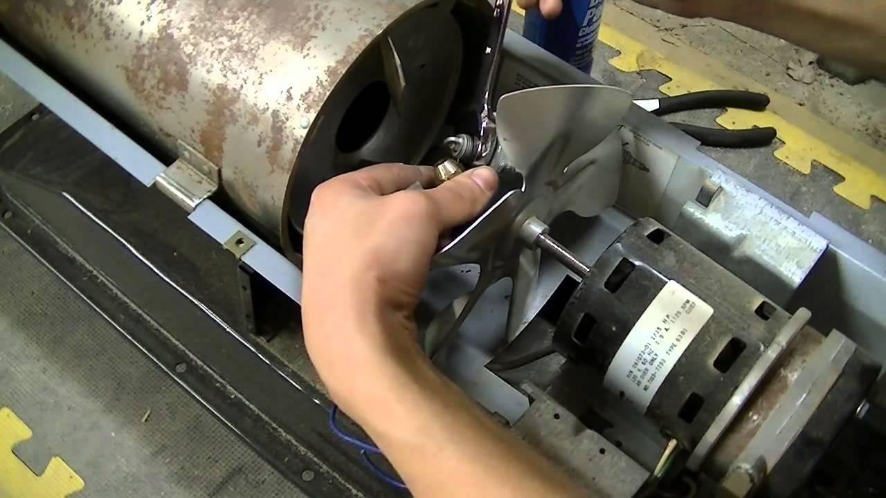 Kerosene Torpedo Heater Repair Test