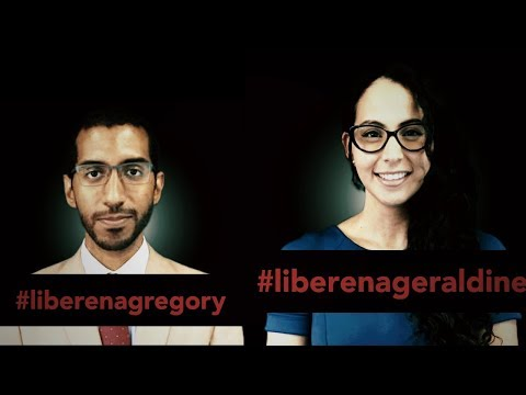 Los Presos del Régimen: Geraldine Chacón y Gregory Hinds