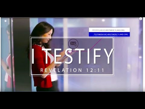 I TESTIFY LIVE BROADCAST (EPISODE 7) 24TH SEPT. 2019