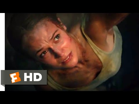 Tomb Raider (2018) - Escaping the Tomb Scene (10/10) | Movieclips