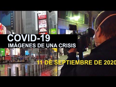 Covid-19 Imágenes de una crisis en el mundo. 11 de septiembre