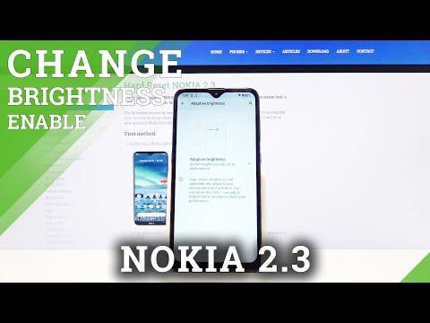 How to Enable Auto Brightness on Nokia 2.3 – Adaptive Brightness