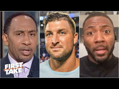 Reacting to Tim Tebow working out with the Jaguars as a tight end | First Take