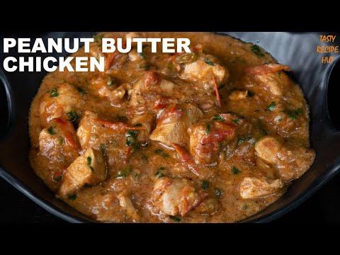 Quick & Simple Peanut Butter Chicken ! Chicken With Peanut Butter