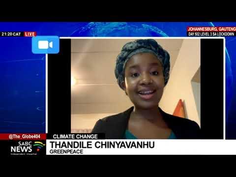 Warnings by the U.N. Climate report: Thandile Chinyavanhu