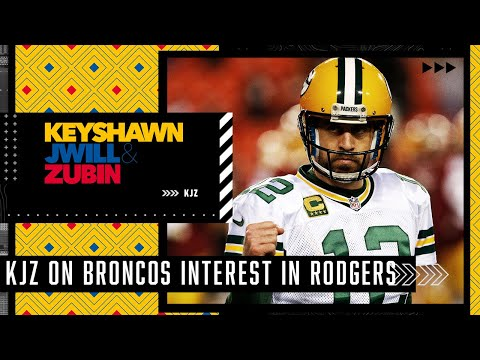 Is it too late for the Broncos to bring in Aaron Rodgers?   KJZ