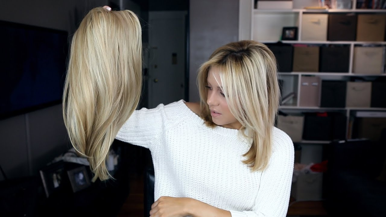 Review Jessica Simpsons Hair Do Extensions Video YouTube