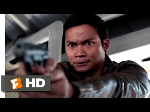 Skin Trade (2015) - Hunted in the Parking Garage Scene (5/10) | Movieclips