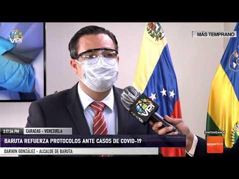 Caracas - Baruta refuerzas medidas ante casos de Covid-19 - VPItv