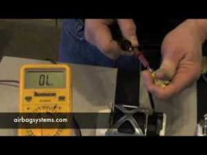 Airbag Systems How to Test a Seatbelt PreTensioner  YouTube
