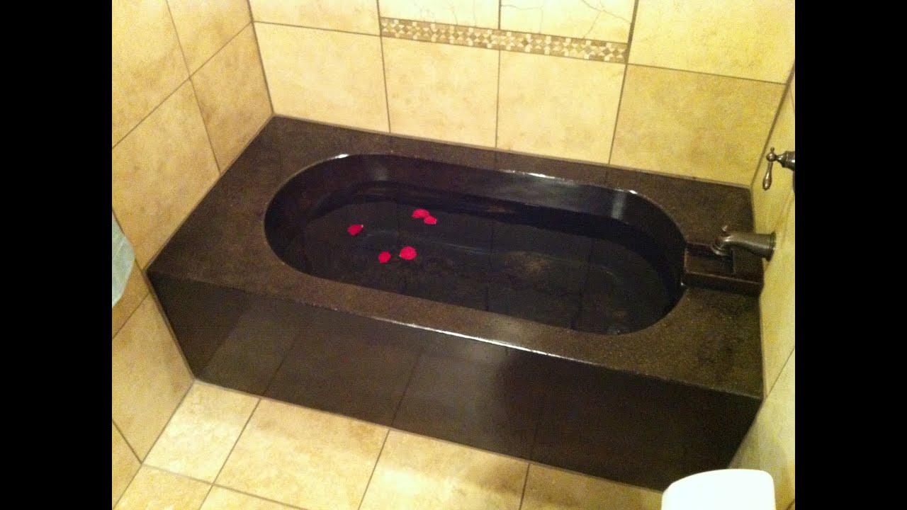 Making A Concrete Bathtub Part 3 Sealing And Final