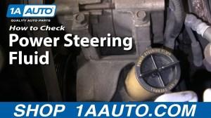 Auto Repair: How Do I CheckAdd Power Steering Fluid to My