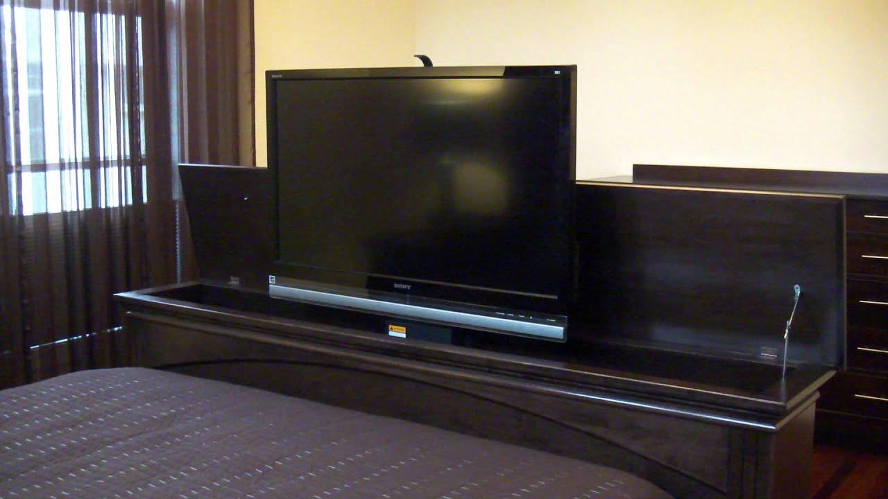 Tv Lift Foot Board Youtube