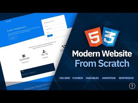 Build a Responsive Website   HTML, CSS Grid, Flexbox & More