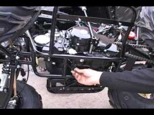 Chinese ATV Oil Change How to  YouTube