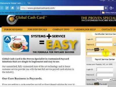 Como Activar mi Tarjeta Global Cash Card en 2plus7 - YouTube