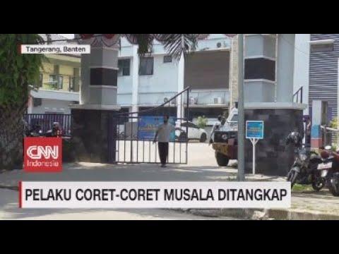 Pelaku Corat Coret Musala Ditangkap