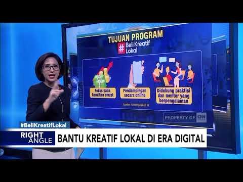 Bantu Kreatif Lokal di Era Digital #BeliKreatifLokal#DiIndonesiaAja